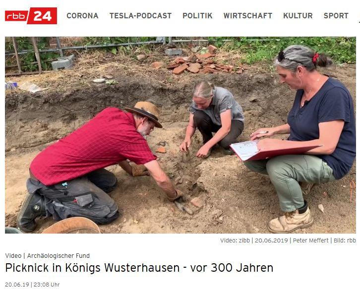 Barockes Depot in Königs Wusterhausen / RBB Video